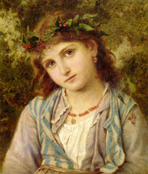 An Autumn Princess by Sophie Gengembre Anderson