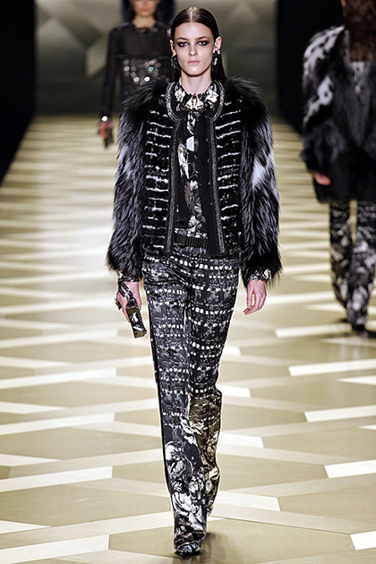 Kremi for Roberto Cavalli F/W 2013 in Milan