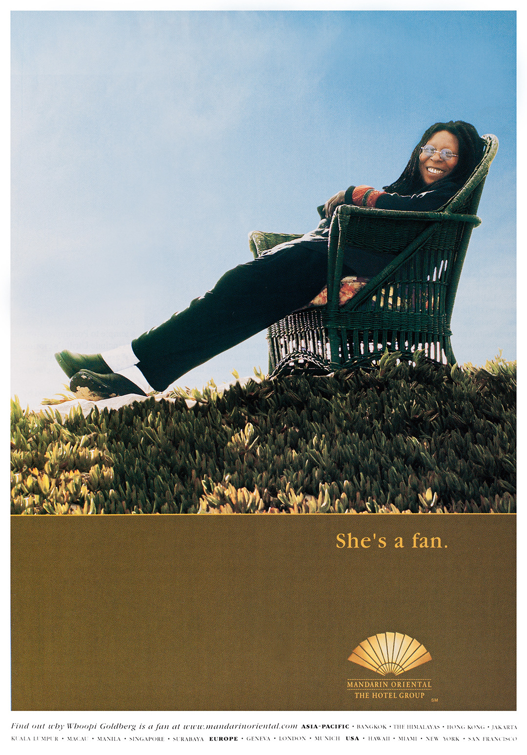 Mandarin Oriental Advertisement - Gourmet: April 2001