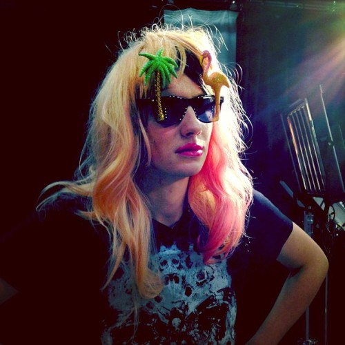 DAN HOWELL AS LADY GAGA