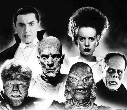 Universal Horror Film Monsters