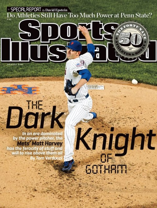chrisdaps:  Look at Mr. Harvey on the cover of Sports Illustrated!  So proud!