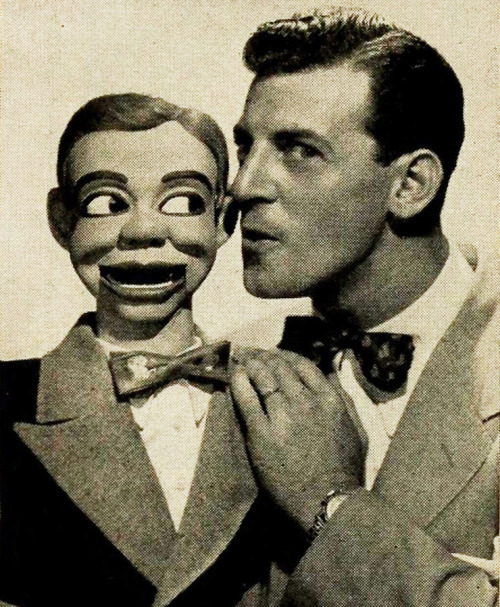paul winchell and jerry mahoney 1957 (by Captain Geoffrey Spaulding)