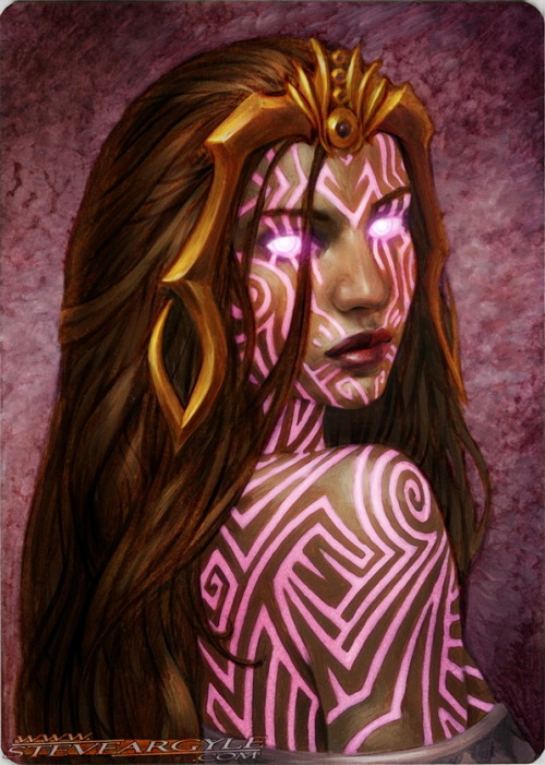 One line at a time, Liliana learned the secrets of demons. One demon at a time, she erases their power.