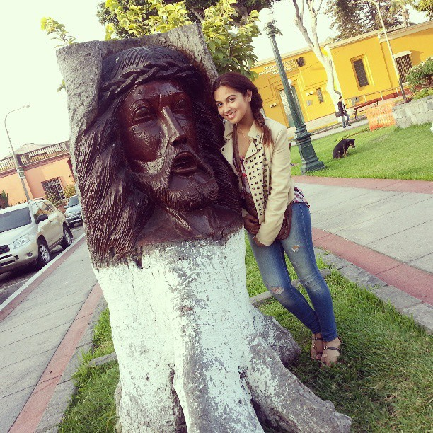 Real Art! #amazing #instagram #instagrampic #art #loveit #jesus  #tree #face #Faith #real #art #park #dog