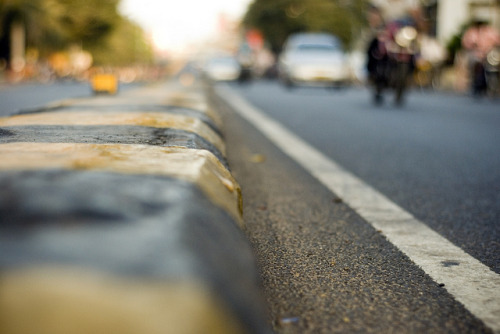 Reporting from the ground, Sardar Patel Road, Adayar by Ravages on Flickr.