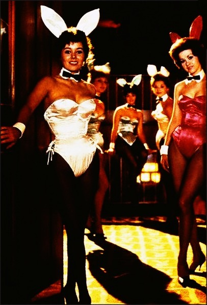 1950sunlimited:  At the Playboy Club, Chicago 1966