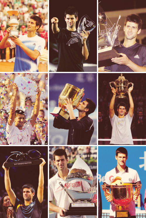 Novak Djokovic All Titles - Part 2