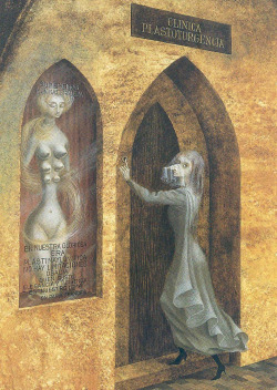 magrittee:  Personal favorite: Remedios Varo - A Visit to the Plastic Surgeon