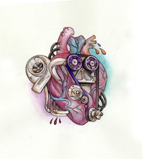 """mechanical heart"" final korpsey"