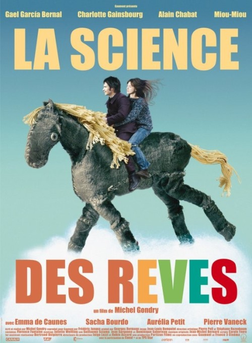Movies of 2012, #93: La Science Des Reves Directed by Michel Gondry, starring Gael Garcia Bernal and Charlotte Gainsbourgh
