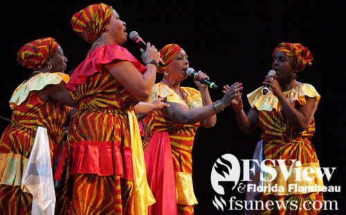 The Creole Choir of Cuba performed at Ruby Diamond Concert Hall on Feb. 25 as a part of the Seven Days of Opening Nights Festival.