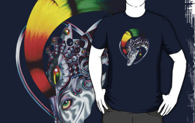 """Propagator of Love"" is now available on RedBubble!"