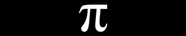 The record for calculating pi currently stands at ten trillion decimal digits. The calculation took 191 days to complete using a custom-built desktop computer attached to 44 terabytes of external storage. The number itself, stored as an uncompressed text file, is over 16.6 terabytes. This calculation was a followup by the same two individuals who, a year prior, set the previous record of five trillion digits.