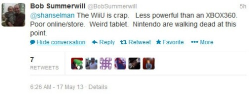 EA Senior Engineer: 'The Wii U Is Crap' For a company I don't respect very much, I have to give EA props for having the balls to come out and say what everyone else is thinking.