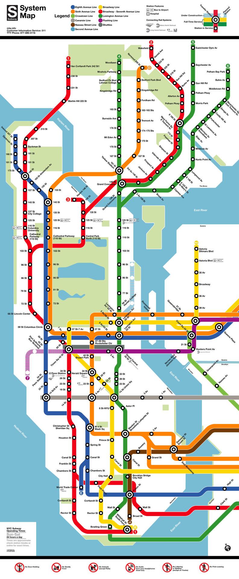 It is a graphic of Stupendous Printable Nyc Subway Maps