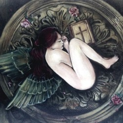Angel Sleep #artwork #painting