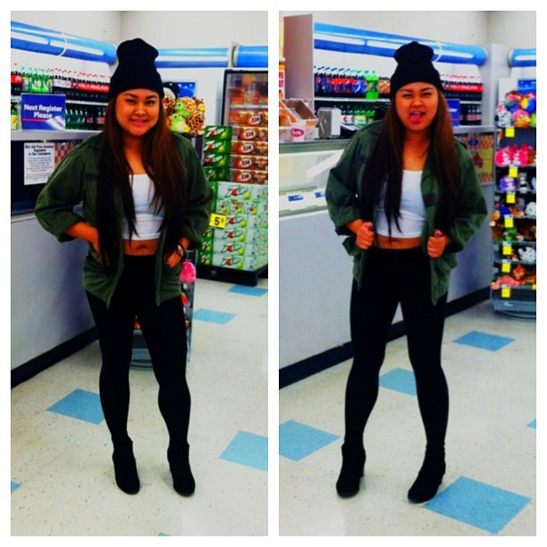 Went to get ice cream #OOTN @alexisisms  (at Rite Aid)