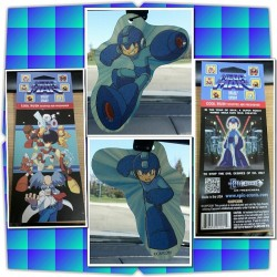Got my Mega Man air freshener today! Y'know, for that new … Mega Man smell. Smells pretty good actually.