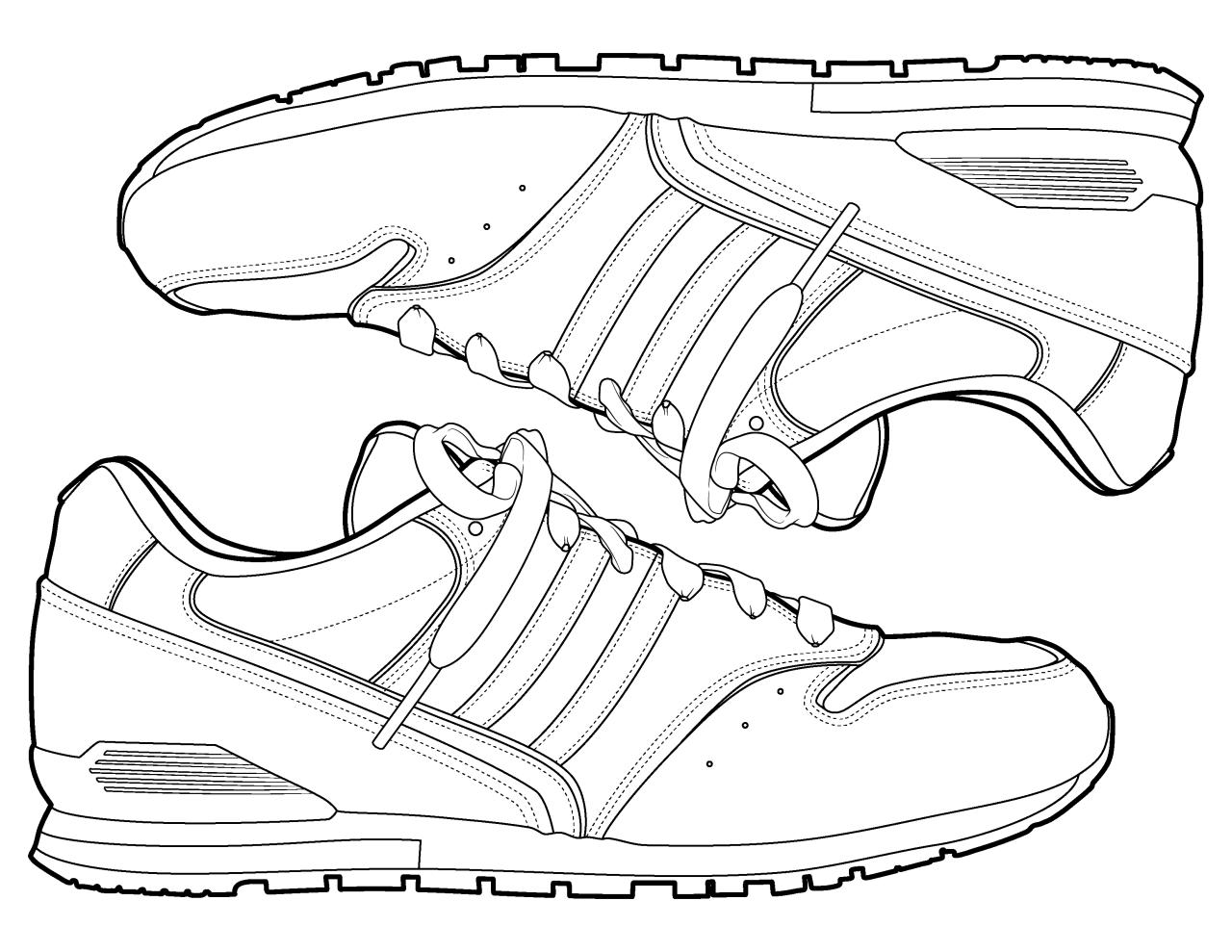 Cartoon Girl Shoe