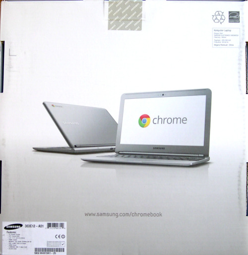 Bought a Samsung Chromebook today.