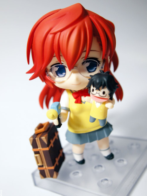 Takatsuki Ichika. It's a shame her glasses are scratched/cracked. :(