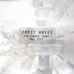 emptywaveszine:  Download the pre-summer fling digital mini-zine here. (or click the photo) Flip through it online, or via the issuu app, here.