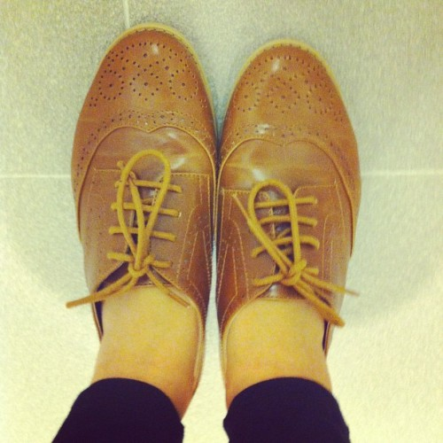 Today.   #shoes #fashion #style #accessories #oxfords #ellielove #beautifulthingsinlife #forjohn #igsg #igclub #instasg #iphonesia #inspiration #instagramsg #iphoneography