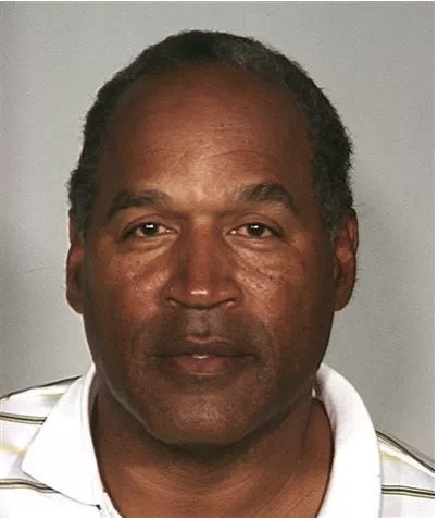 "OJ Simpson manages to hold a Super Bowl party in jail. Apparently, he is one of the only inmates with a TV so he has become some what of a ""godfather""."