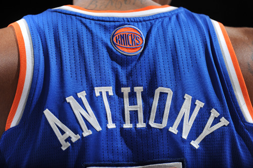 bleacherreport:  Melo overtakes LeBron for the NBA's hottest-selling jersey this season. More: NBA.com