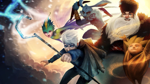 whynotdarkjack:  Rise of the Guardians by *Detkef
