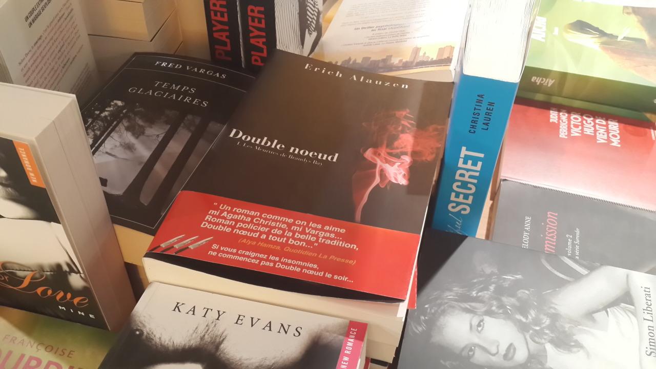 Double noeud en vente aux Librairies Culturel à Menzah 6, Sousse et La Marsa (CC Zenith)…