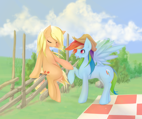 deviousderpy:  Take your special somepony on a picnic, it is almost summer!  Amazing drawing!