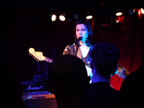 The lovely Laetitia Sadier at Water Rats earlier.