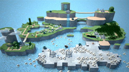 suppermariobroth:  Super Mario World 3D by ~webcat