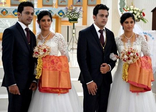 Amor duplicado: la boda de dos parejas de gemelos