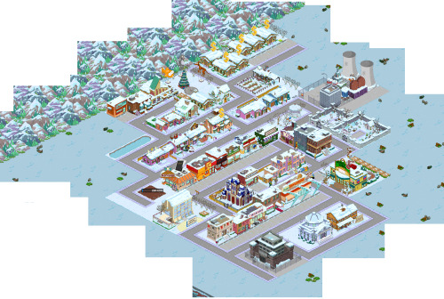 My village (so far) on The Simpsons: Tapped Out Add me, Origin ID: MetallicAsh