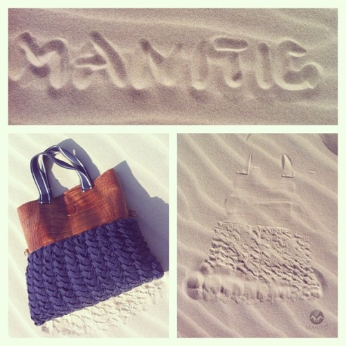 #Manitic #shopper #bag , #accessories #fashion #trends #mysia3  #warsaw #london #summer #sand #dunes #picoftheday #webstagram #instagood #instagramers