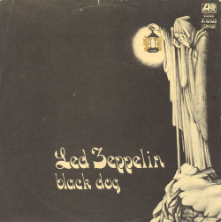 superseventies:  Led Zeppelin, 'Black Dog', 1971 cover art