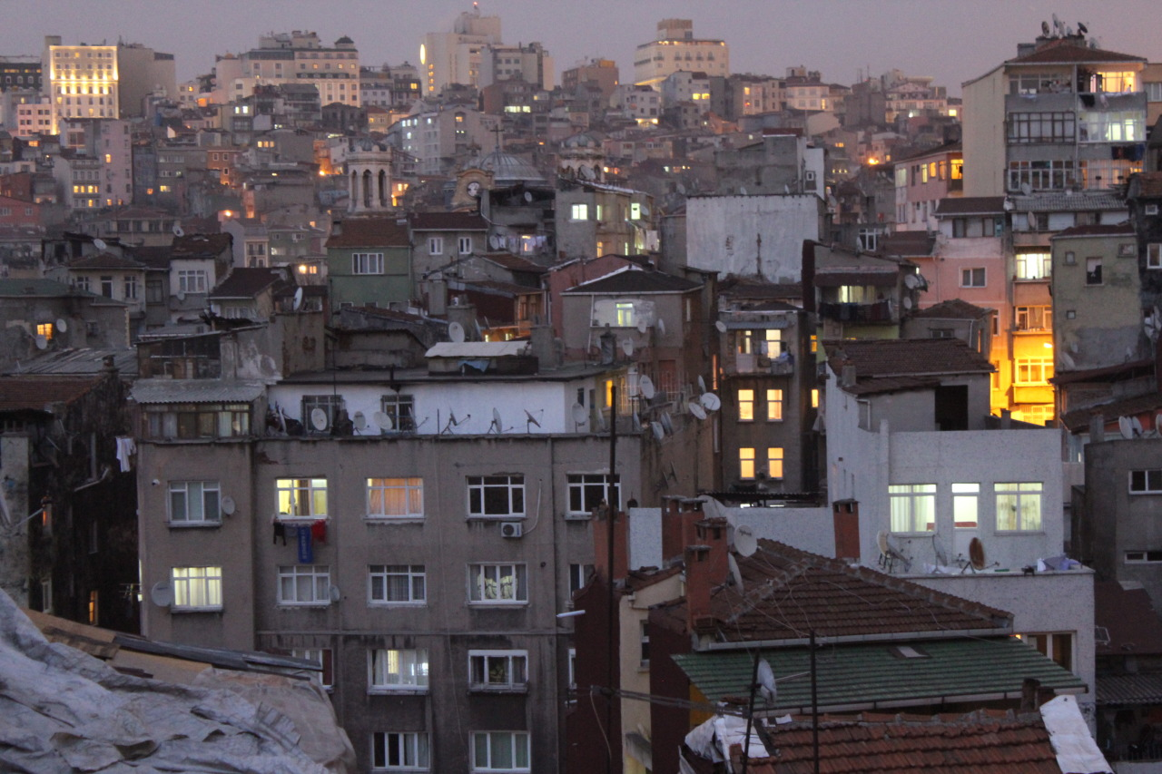 Between day and night, Istanbul, Turkey.