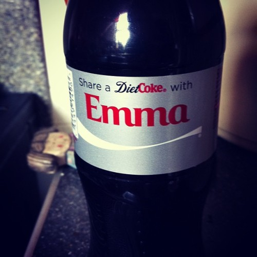 Mama found a Emma coke for me ❤