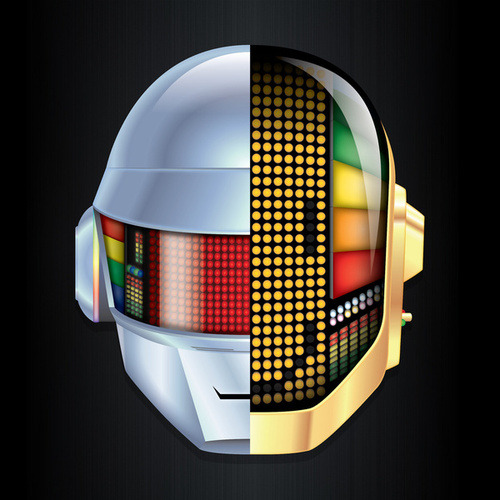 urbannoize2010:  The succession of Daft Punk Just came across this many phased succession of Daft Punk's super dope helmet collection once again under the music tag on Tumblr, via TNGBDGRL. Good stuff. I can never get enough of things like this.