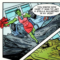 She-Hulk vs Stella McCartney