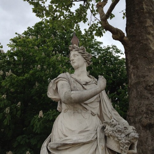 #Paris (at Jardin des Tuileries)