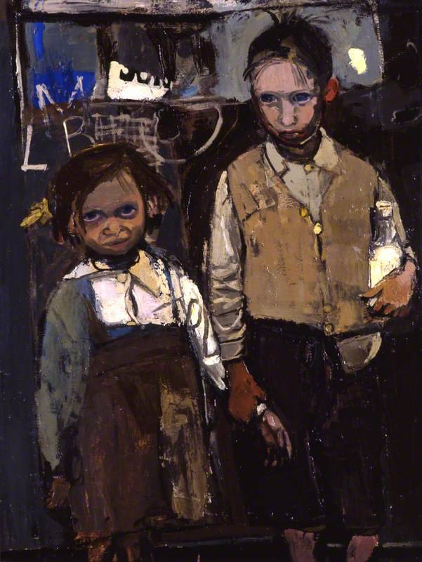 Joan Eardley Brother and Sister