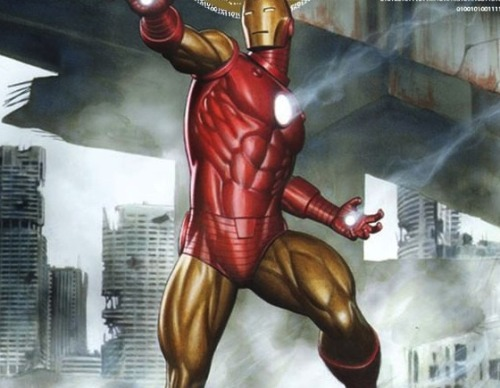 Iron Man to do Battle with Thighmaster in Age of Ultron Despite an attempt to cover it up by adding molded muscles to the Iron Man suit, Tony Stark has added at least 25 pounds per thigh in the latest Age of Ultron teaser. Read More