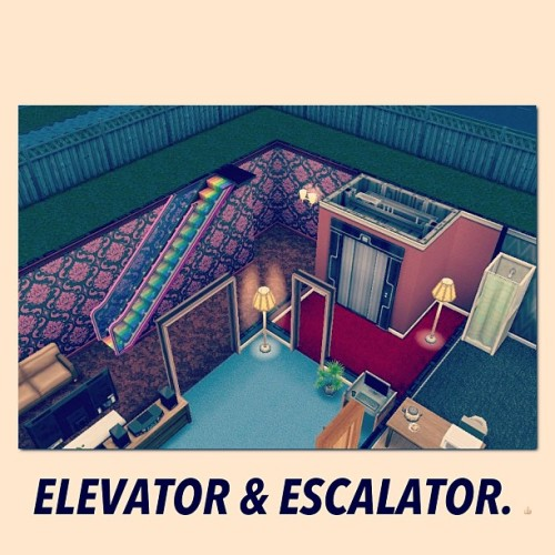 ELEVATOR AND ESCALATOR SA BAHAY. 👍 ❤❤❤ #sims #freeplay #addict #nashville #elevator #escalator #cool #amazing