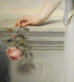 colourthysoul:  Thomas Lawrence - Portrait of Catherine Gray, Lady Manners (1794), detail