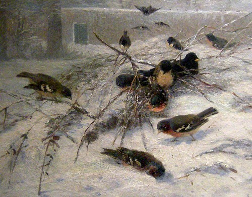 Irma Herford Birds in the Snow 20th century