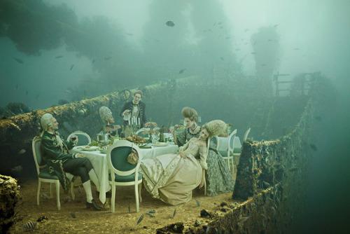 secretlifeofamovieproducer:  slowartday:  Andreas Franke, The Sinking World  THIS IS AMAZING